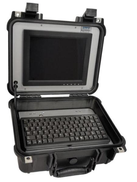 """10""""LCD im Koffer"""