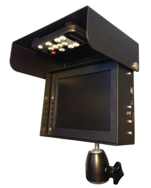 """5,6"""" LCD mit DVR"""